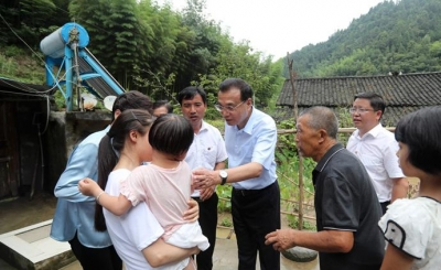 李克强在贵州考察:全力做好洪涝地质灾害防御和应急抢险救援