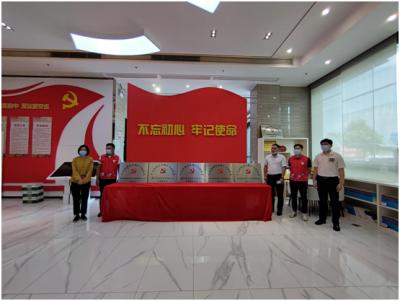 马田街道鹏祥保安服务有限公司党总支部揭牌成立