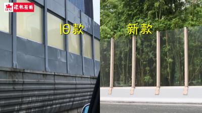 """隔音屏中的""""王者""""和""""颜霸""""!深圳1000米新款隔音屏上线"""