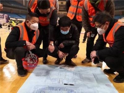 内地支援队已完成香港方舱方案设计,参考武汉21座方舱医院经验