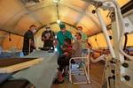 (外代一线)(7)黎巴嫩多家野战医院搭建完成