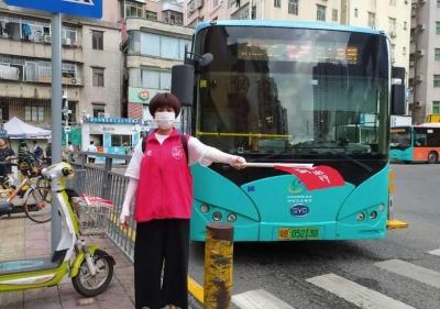 协手共创美丽城市,草埔东志愿者在行动