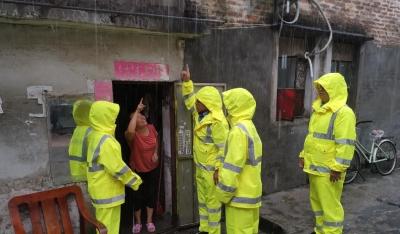 筑牢雨季防汛安全线!马田街道连续一个多月开展专项巡查