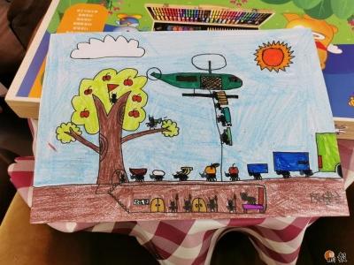 以美育塑造健康身心,西乡青少年夏令营美术活动点亮孩子暑期生活