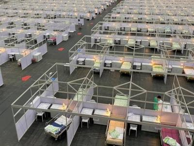 内地援港团队已开始设计香港方舱医院改建方案,参考武汉经验