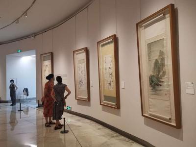百幅珍品再现岭南画派一代宗师传奇人生,高剑父作品展在关馆开幕
