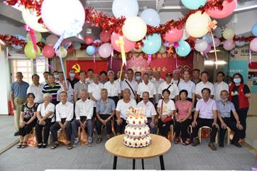 公明街道举行建党99周年组织生活会