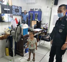 四岁男童走失  社区工作人员助其找到家人