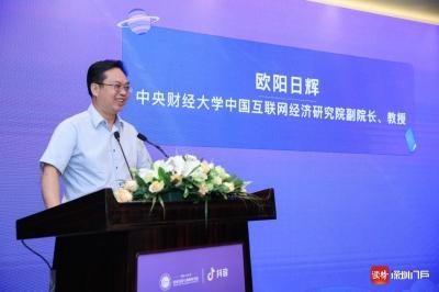 中央财经大学教授欧阳日辉:直播与各行各业结合创造新就业