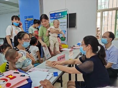 社区0-6岁儿童发育情况如何?大鹏这项民生微实事提供了免费筛查