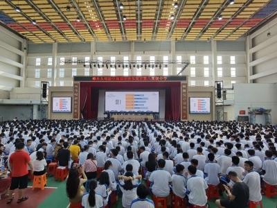 东莞八中1500名学生学《民法典》