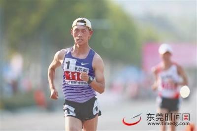全国竞走锦标赛男子20公里项目,东莞选手王凯华勇夺冠军
