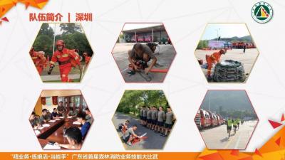 """""""广东省森林消防业务技能大比武""""举行,深圳两支队伍参赛!"""