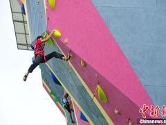 中国攀岩联赛首次落地西藏