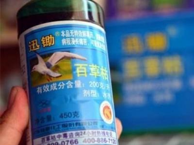 农业农村部:百草枯产品只能用于出口,不得在境内销售