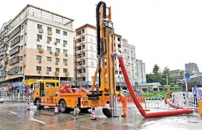 寶安昨日又下暴雨 全區啟動防汛IV級應急響應