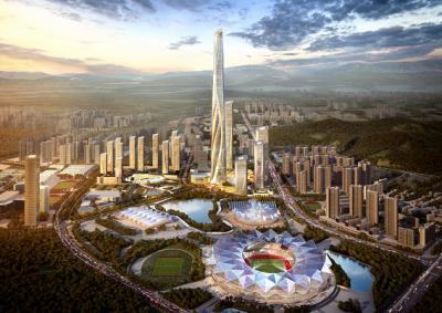 """大运新城:一座高水平""""城市新客厅""""正在崛起"""