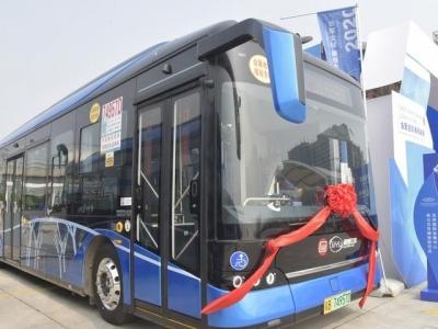 黑科技+高颜值!西部公汽88台新车亮相投放,智慧公交线路再迎升级