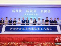 互联网企业组团成立新经济新就业促进联盟