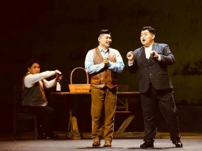 藍色妖姬和紀念票,550位觀眾陪上音歌劇院一歲慶生
