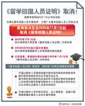 (图表)[教育]《留学回国人员证明》取消!