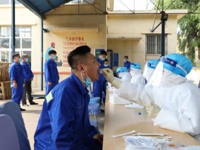 青岛港:组织1.2万名员工核酸检测,结果全部为阴性