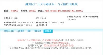 """广州市中心""""蚊型""""烂尾楼地块,终于卖了!"""