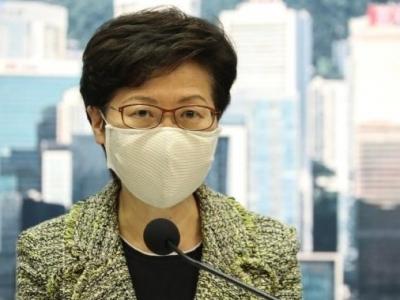 林鄭月娥:香港第三波新冠肺炎疫情已經受控