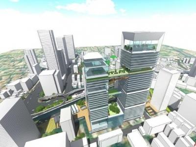 """广州城市更新驶入""""快车道"""" 越秀中心区将建198米""""越秀之心"""""""