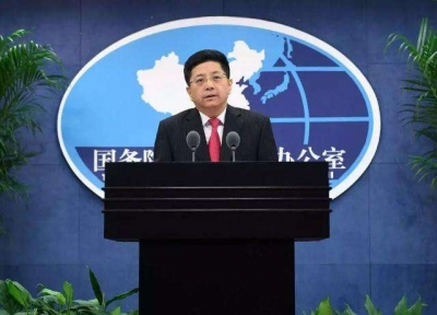 國臺辦:解放軍戰訓活動是針對臺海安全形勢采取的必要行動
