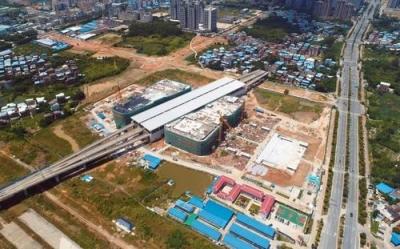 广清城际轨道交通清远至省职教城段项目开工,马兴瑞出席开工活动