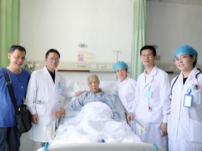 八旬老人心梗后心脏破洞,协和深圳医院心内科团队救回一命