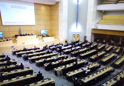 发展中国家代表:反对借涉香港、新疆问题干涉中国内政