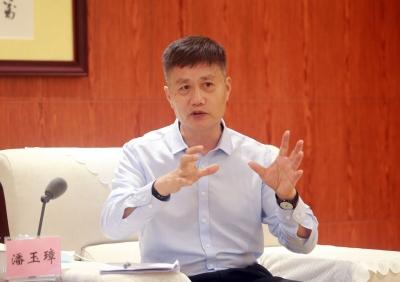 南沙开发区潘玉璋:怎样为深圳产业发展服务,我坚信是有前景的