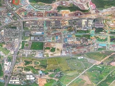 科学城智慧公园建设总工程量完成20%