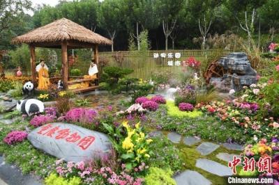中国(重庆)第三届长江上游城市花博会开幕