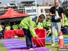 福建多地举办系列活动庆环卫工人节