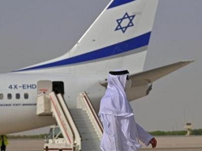 以色列商业航班首次直飞巴林