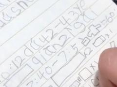 """笔记本暗藏""""摩斯密码"""",""""熊孩子们""""的这些大作,你能看懂吗?"""