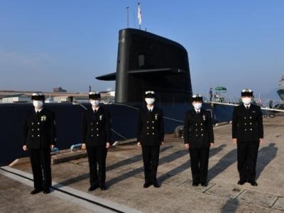 日本海上自卫队迎来首批女性潜艇船员,共5人