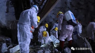 广西乐业大道隧道塌方事故发现1名被困人员遗体,身份待确认