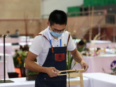 广东省职业院校学生专业技能大赛艺术插花赛项在深职院举行