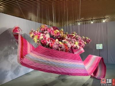 7大展区8万盆菊花 东湖公园菊花展打造秋日的粉色浪漫