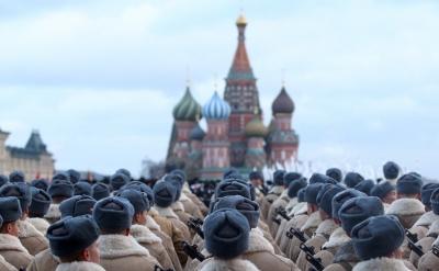 受疫情影响,俄罗斯取消11月7日红场阅兵