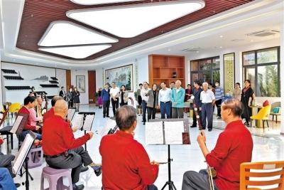 寶安新安街道:長青老齡大學啟用,提升老年生活幸福感和獲得感
