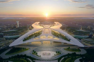 震撼起飞!深圳机场东枢纽设计方案曝光