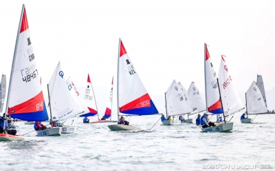 少年水手 逐梦蓝湾,2020中国杯青少年帆船赛南山开赛