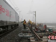 焦柳铁路至襄北枢纽形成双通道 浩吉铁路货运南下运能提升