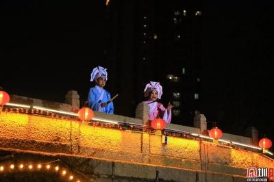 古风服饰赛、古风大巡游为宝安民俗文化节再添古韵