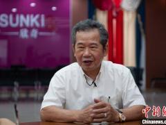 台商黄金牌琼岛创业近30载 鼓励台湾年轻人多来大陆走走
